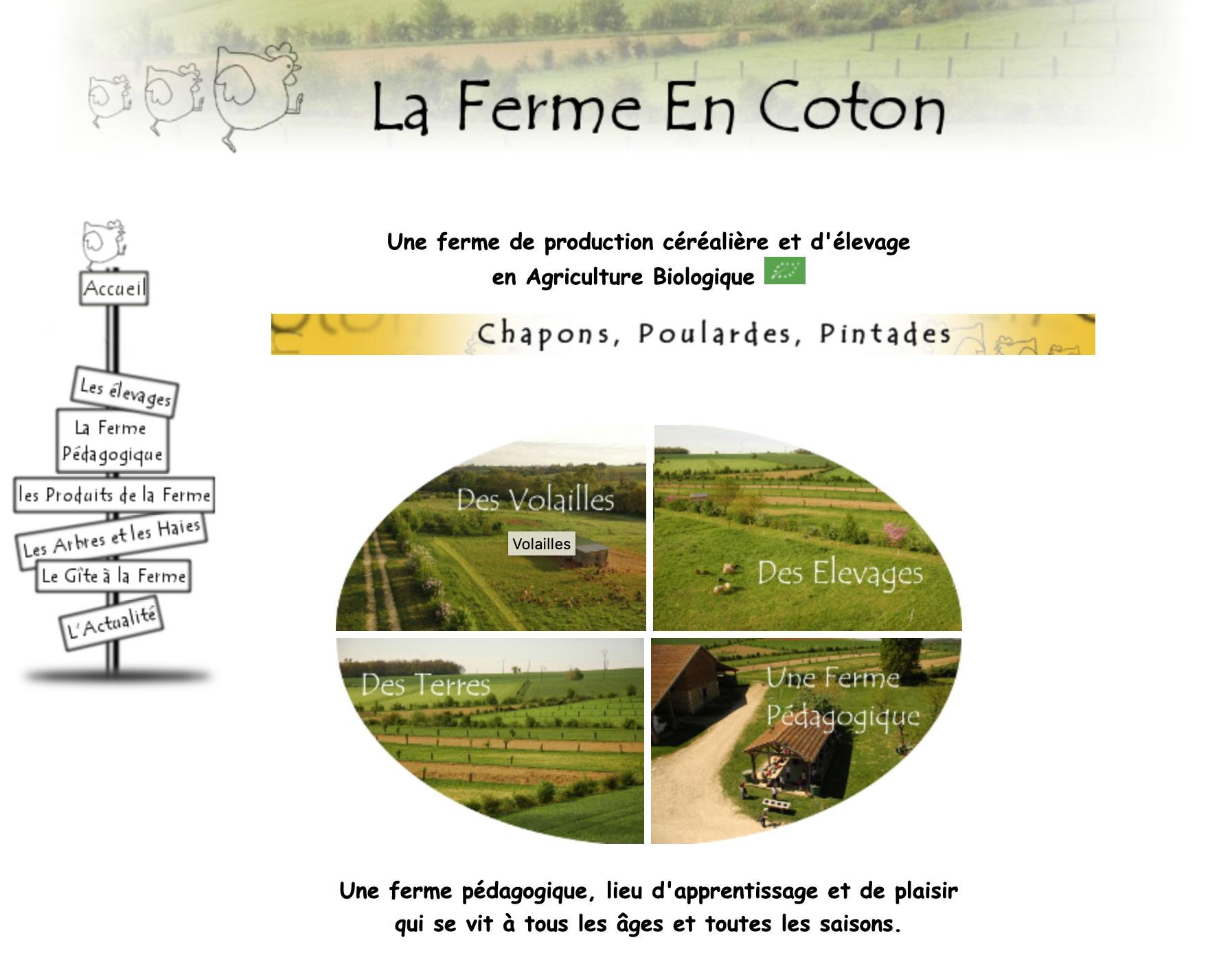 La ferme en Coton